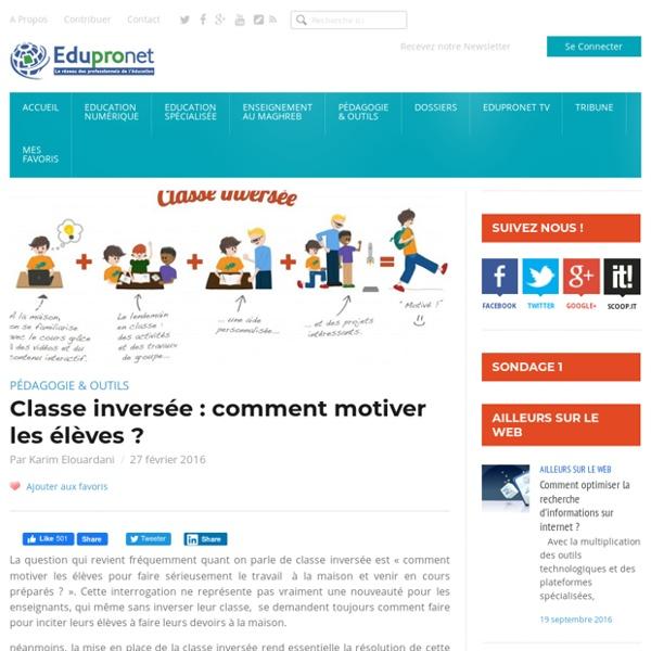 Classe inversée : comment motiver les élèves ?
