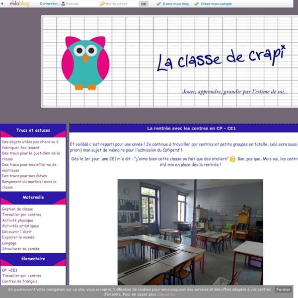 Le coffre de crapi, zil - blog de partage d'une zil aux enseignants