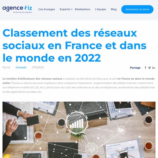 Chiffres des utilisateurs des réseaux sociaux en France et dans le monde en 2017