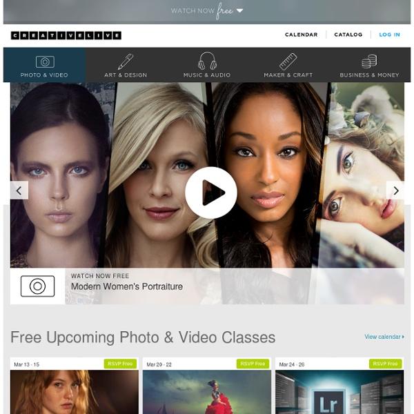 Free Online Photo & Video Classes
