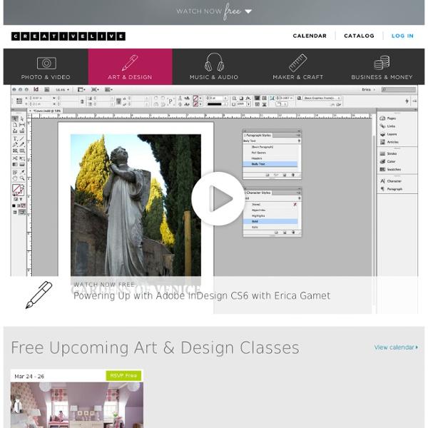 Free Online Art & Design Classes