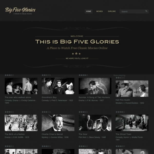 Classic Movies Online