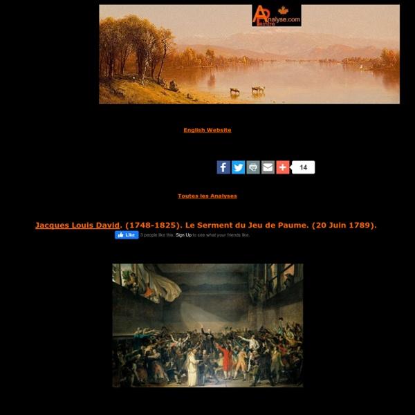 Jacques Louis David,Le Serment du Jeu de Paume,20 Juin 1789,classicisme,éducation,enseignement,analyse et etude de la toile et du style,art,culture,peinture