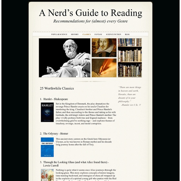 Classics - A Nerd's Guide to Reading