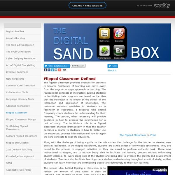 Flipped Classroom - digitalsandbox