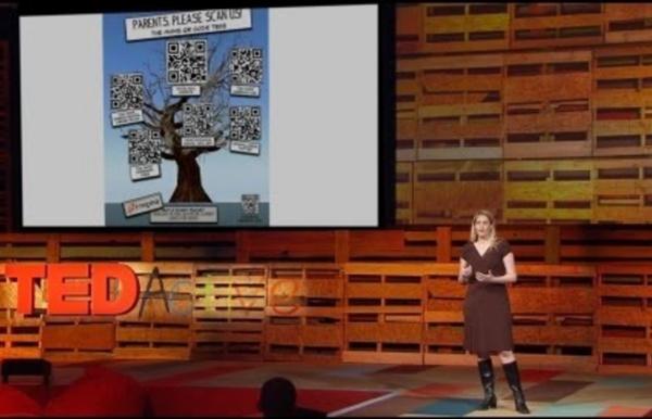 The magic of QR codes in the classroom - Karen Mensing