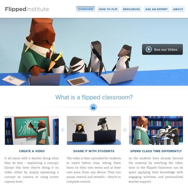 Flipped Classroom Training & Technologies