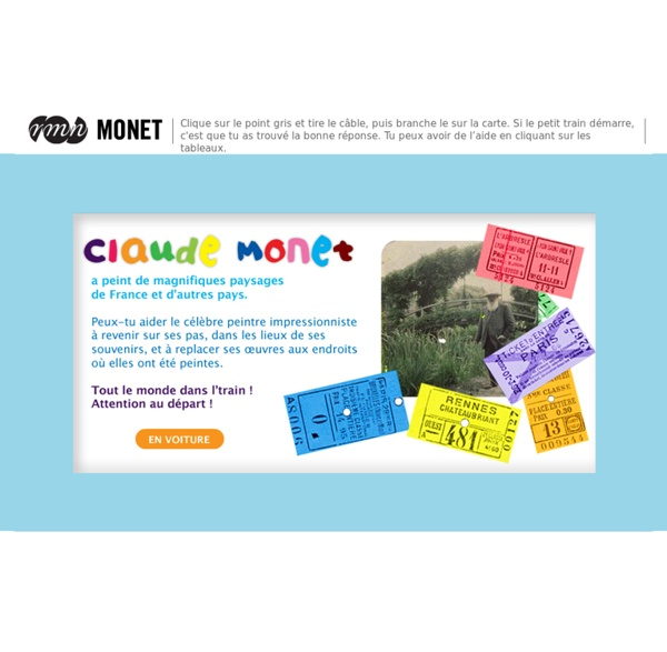 Joue avec Monet