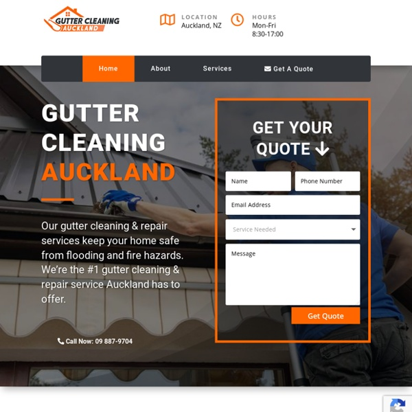 Gutter Cleaning Auckland — Top-Rated Gutter Services in Auckland