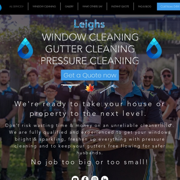Great window cleaning concepts