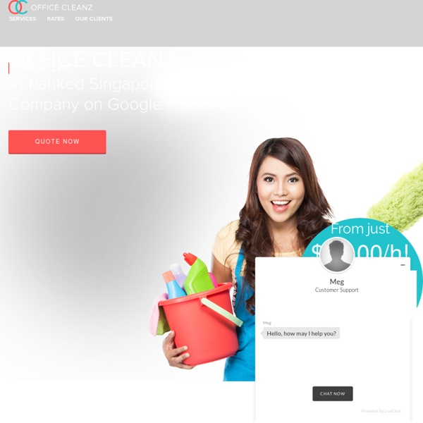 Office Cleaning Company Singapore
