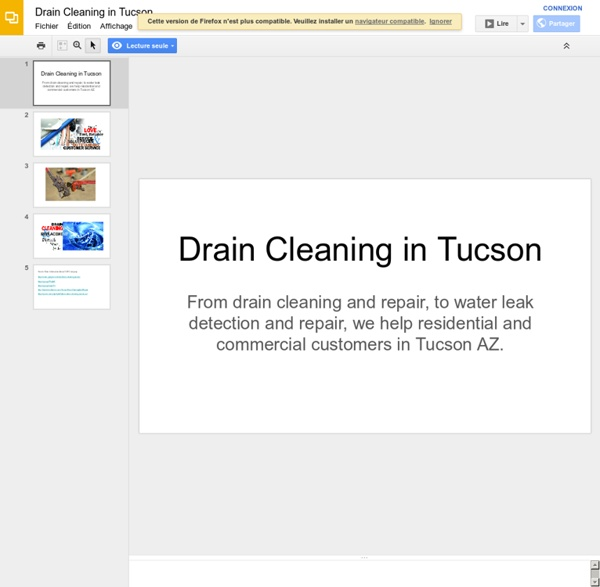 Drain Cleaning in Tucson