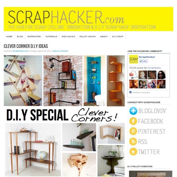 Clever Corner DIY Solutions