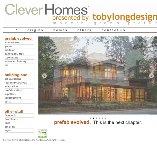 Cleverhomes Presented By Tobylongdesign Intro Pearltrees