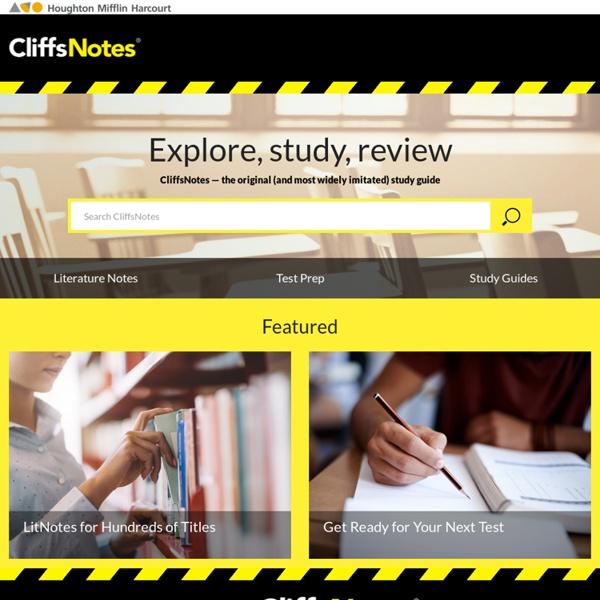 Book Summaries, Test Preparation & Homework Help