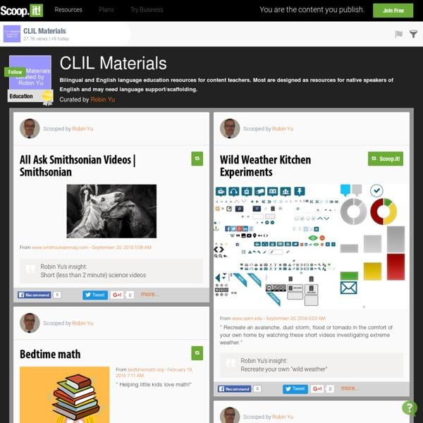 CLIL Materials