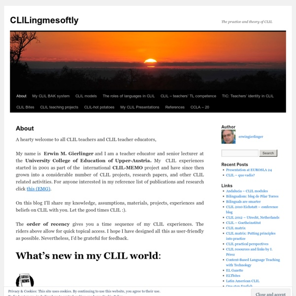 The practice and theory of CLIL