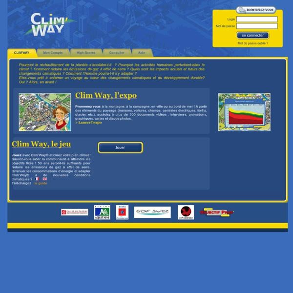 Clim'city Online - Accueil