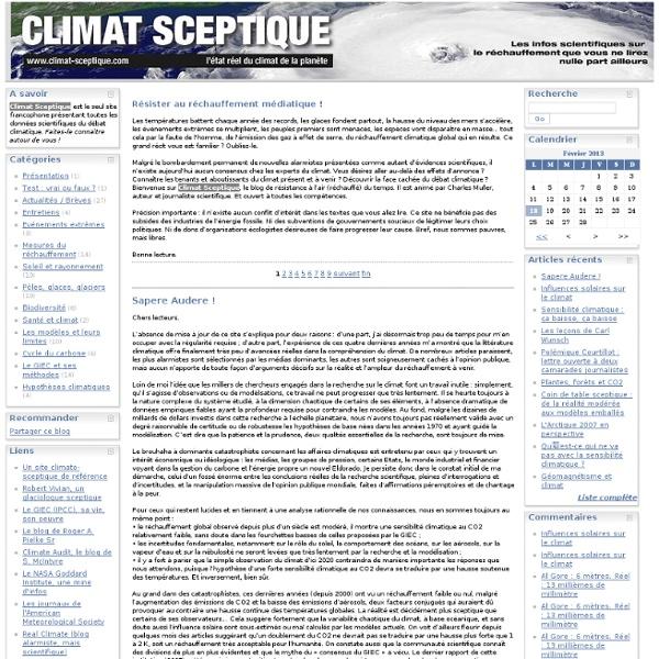 Climat sceptique