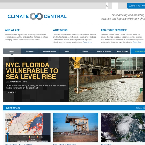 Climate Central: A Science & News Organization