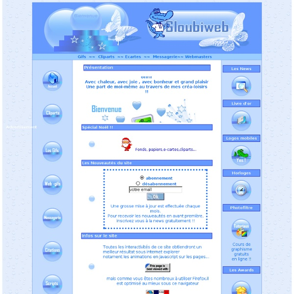 Gloubiweb excellent site