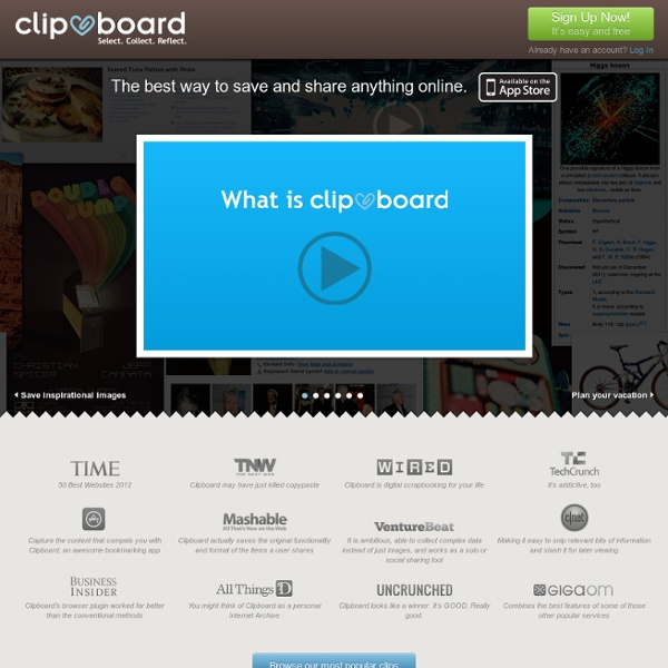 Clipmarks - What are you finding on the web?