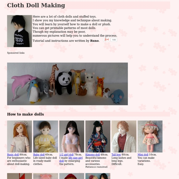 Cloth: Santa, Caucasian, Anime, Japanese Doll Making by Runo Dollmaker