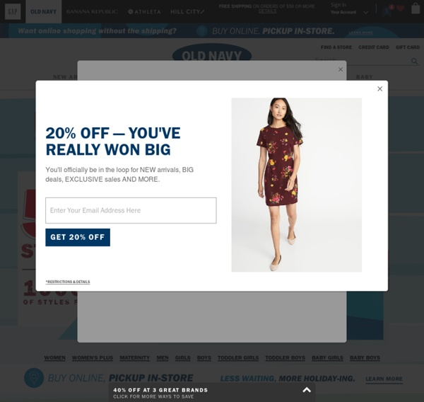 Related to Old Navy - Clothes For Women, Men, Kids and Baby | Free