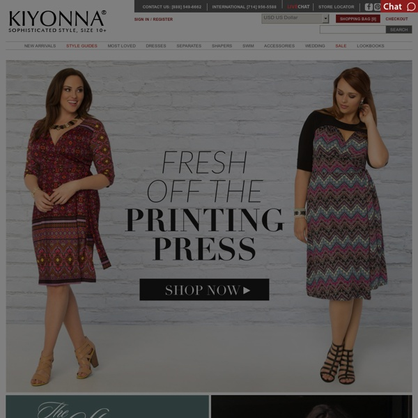 Plus Size Clothing, Fashion - For Sophisticated Style Buy KIYONNA™