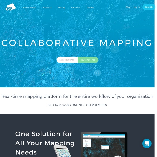 Geographic Information Systems in the Cloud