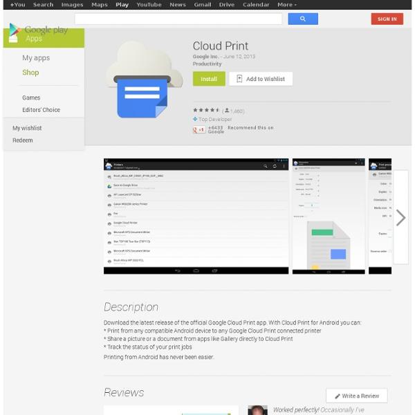 Cloud Print - App Android su Google Play