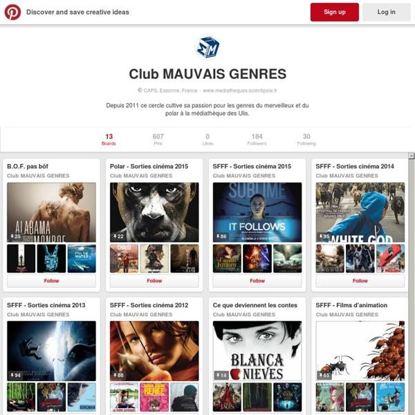 Réseau des médiathèques de la CAPS (mediathequeulis) on Pinterest