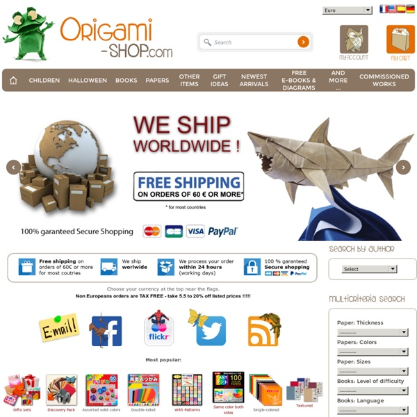 Book, papers for Origami - Free e-books