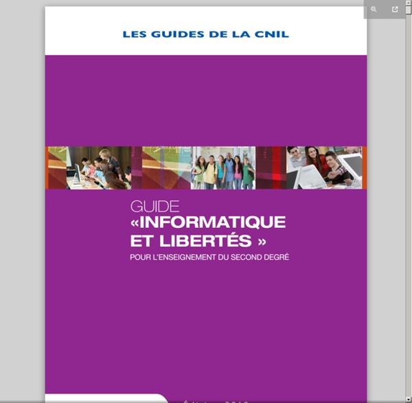 Www.cnil.fr/fileadmin/documents/Guides_pratiques/CNIL_Guide_enseignement.pdf