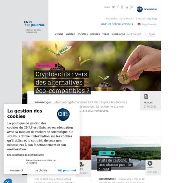 CNRS le journal -Donner du sens à la science