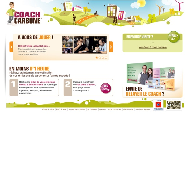 Coach Carbone.org - Calculez votre Bilan Carbone