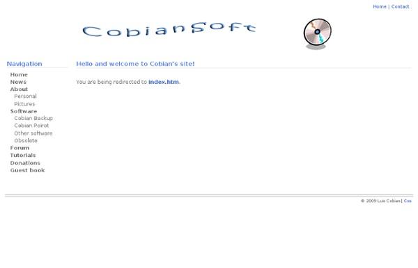 Cobian's site - Pentadactyl