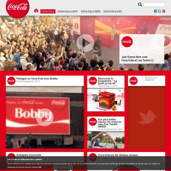 Ouvre un Coca-Cola, ouvre du bonheur