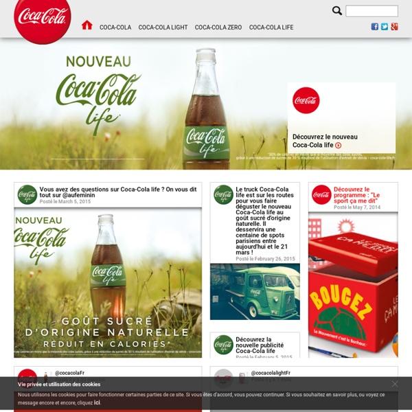 Ouvre un Coca-Cola, ouvre du bonheur : Le site officiel de Coca-Cola