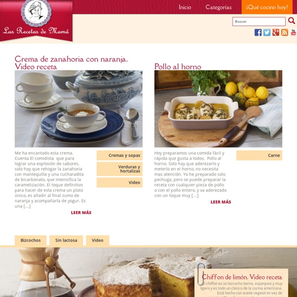 Blog de recetas y trucos de cocina. Aprende a cocinar, disfruta cocinando. Comida sana. Dieta mediterranea