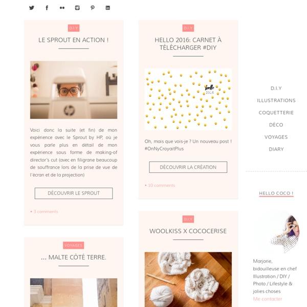 Cococerise – le blog