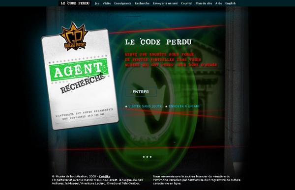 Le Code Perdu:Le Code Perdu:Musée de la civilisation