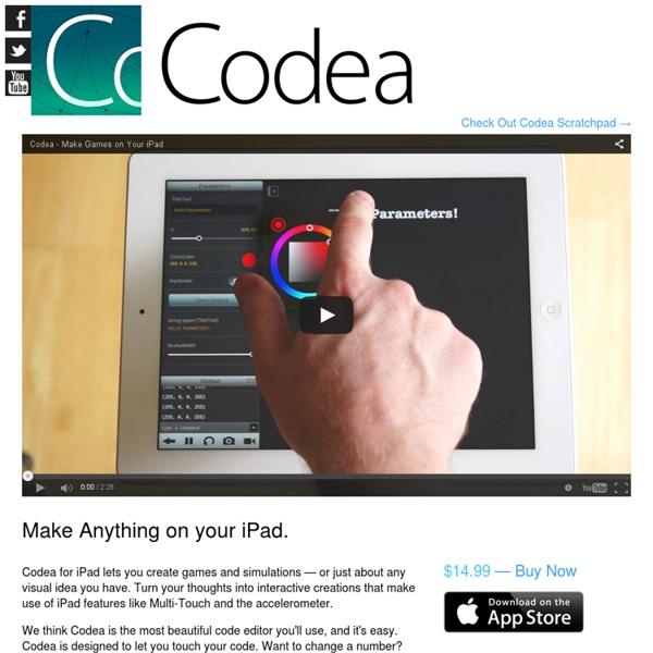 Codea – iPad