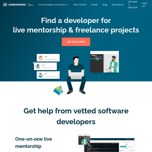Instant 1:1 Help from Expert Developers