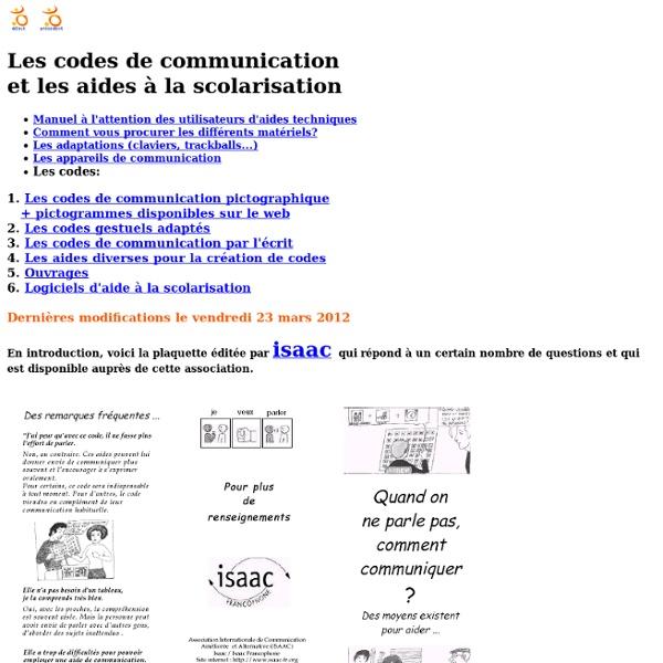 Codes de communication