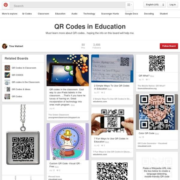 80 ideaa QR-koodien opetuskäyttöön