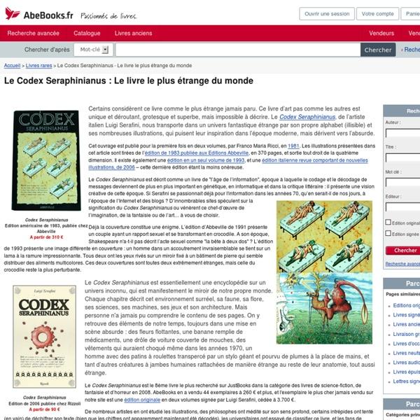 Le Codex Seraphinianus - Le livre le plus étrange du monde