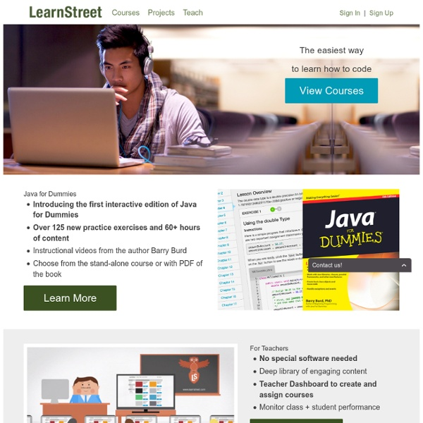 Online Programming Courses, Learn Programming Online