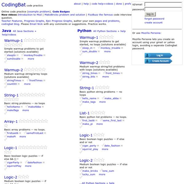 CodingBat