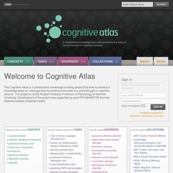 Cognitive Atlas